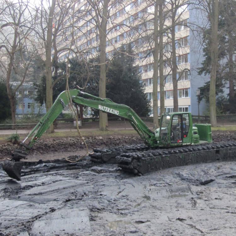 mud excavator