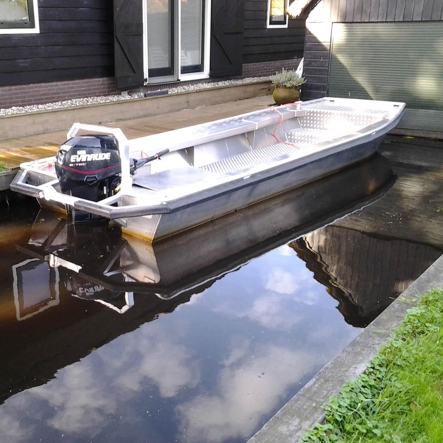 Aluminium Arbeitsboot