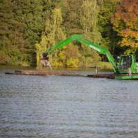 Barge de drague 10m3