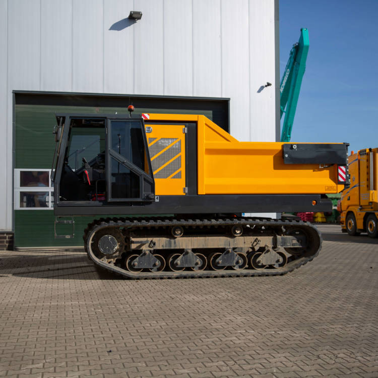 rotating track dumper 360 degrees