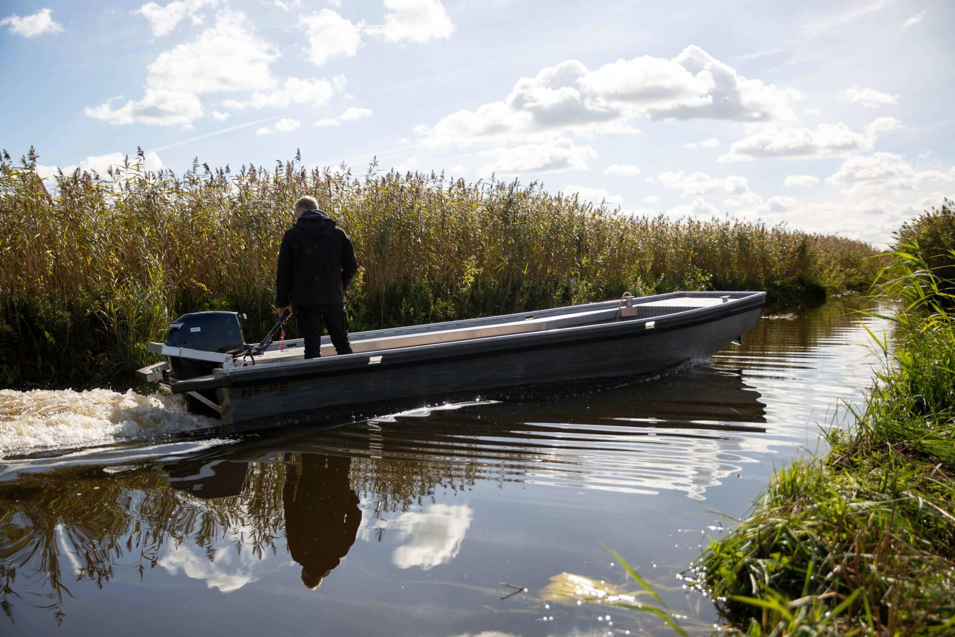 workboat aluminium 27 hp