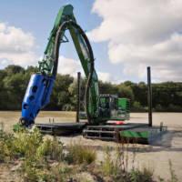 amphibious-excavator-dredging pump-1