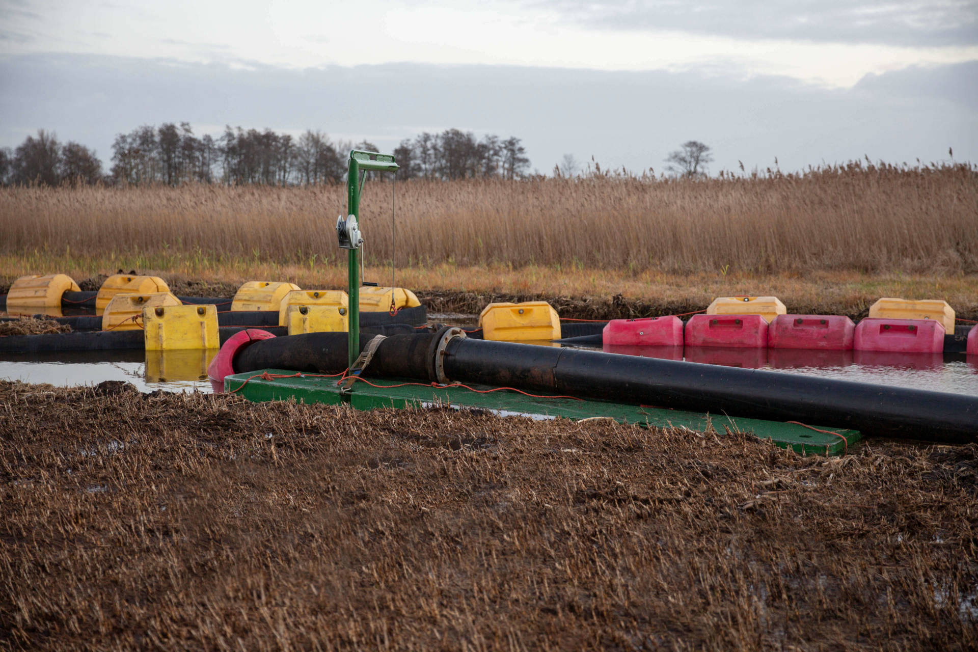 dredging hoses, HDPE pipeline, pressure pipe, floaters